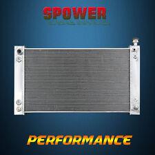 3-Row/Core Aluminum Radiator For Chevrolet GMC C K P R V Series 88-95 56mm-CORE