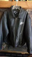 105th Anniv. Edition Harley Davidson & Miller Lite Mens Leather Jacket Large