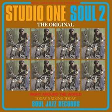 Soul Jazz Records Presents/Studio One Soul 2 LTD/D. code 2 VINYL LP + mp3 NEUF