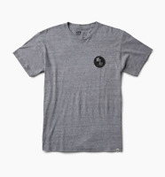 REEF Men's EXPLORE Tee T-Shirt Heather Grey Sizes S M L XL XXL