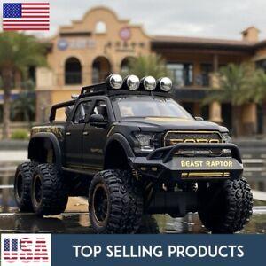 Ford  Raptor F150 PICKUP TRUCK Alloy 1:28 Diecast Car Model Kids Boy Gift Toy