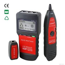 NF-8200 Network LAN Ethernet Cable Length Tester Wire Tracker RJ45/11 Finder NEW