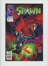 Spawn #1 Image Newsstand Variant Comic Book Cover Todd McFarlane 1:100 Upc 003