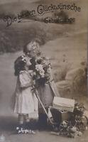 """""""Geburtstag,  Kinder,  Wagen"""" 1916 ♥"""