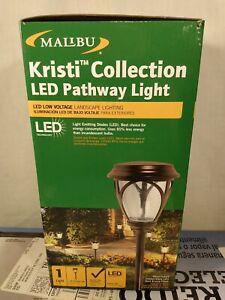 Malibu Kristi LED Path Light Low Voltage Landscape Lighting Yard Garden Decor