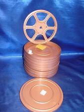 """Set of 8! Goldberg Duel 8mm Reel for Super 8 and Regular 8 Projectors  7"""""""
