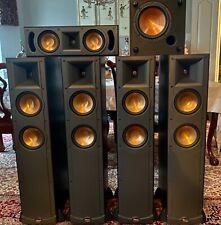Klipsch Speakers Rf-62Bk Iv Floor Standing Speaker, Rc-52Bk Center, R-8Swi Sub