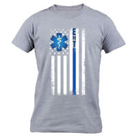 Emergency Medical Technician TShirt for Men EMT Flag Shirt Paramedic Men's Gifts