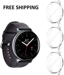 3 Pack For Samsung Galaxy Watch Active 2 Case 44mm 2019 Protective TPU Cover NEW