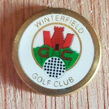 Winterfield Golf Club Ball Marker.