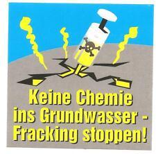 300 Fracking stoppen Aufkleber stickers TTIP Punk Öko Umwelt  Scheiß Regierung