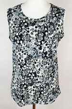 NEW WOMEN  TUNIC  size  14/16 TOP  SLEEVELESS  BLOUSE   LADIES   1163