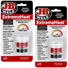 2 x JB Weld Extreme Heat Resistant Putty Filler Paste Steel Metal Car Engine