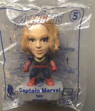 Avengers Captain Marvel 2019 McDONALD'S HAPPY MEAL TOYS Sealed