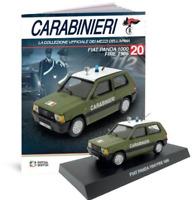 Fiat Panda 1000 Fire 1986 - Carabinieri 1:43 Scale # MAG KR20