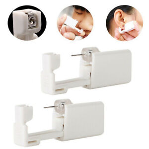 Earplug Disposable Gun Sterile And Painless Ear Piercing Device Adults Children
