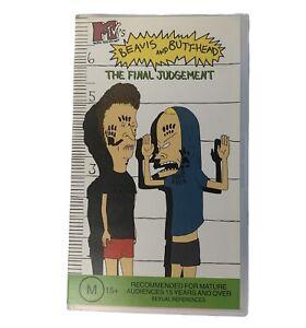 Beavis And Butthead The Final Judgement VHS Video Tape MTV 1996 Beavis Butt Head