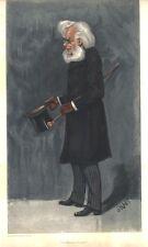 *GREAT PLAYWRIGHT HENRIK IBSEN 1901 VANITY FAIR LITHOGRAPH*