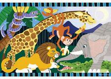 Melissa & Doug Safari Social 24 Piece Jigsaw Floor Puzzle