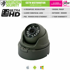 4MP 3.6MM 1080P POE P2P 20M IR GREY OUTDOOR DEEP BASE IP SECURITY CAMERA CCTV