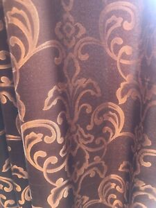 drapes Preowned black and gold