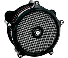 PM Black Ano Super Gas Air Cleaner Harley Davidson Touring 2008-2015