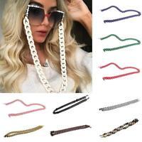 Acryl Sonnenbrille Kette Frauen Lesebrille Hängende Halskette Brille Kette