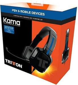 TRITTON Kama Stereo Headset for PlayStation 4, Xbox One, Nintendo Switch