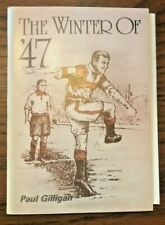 More details for rare! doncaster rovers: 'the winter of `47' by paul gilligan-signed with poster