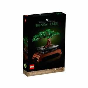 LEGO 10281 Creator Expert Bonsai Tree Set for Adults, Home Décor DIY Projects