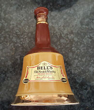 """OLD EMPTY BELL'S WHISKY DECANTER BY WADE - 10 """" TALL 6 """" BASE FREE DELIVERY"""