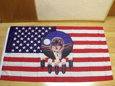 Fahnen Flagge USA Wolf - 90 x 150 cm