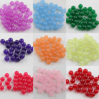 Jewelry Making DIY Jade Gemstone Round Loose Spacer Beads 6/8/10mm