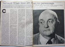 BERNARD BLIER => Coupure de presse 2  pages 1977