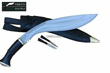 "Genuine Gurkha Kukri knife-13"" GK&Co Havildar Kukuri, jungle knives,GK&Co Kukri"