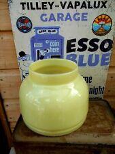 RARE Tilley Lamp Lemon Shade for Kerosene Oil Antique Tilly Lantern KL80 ML93 TL