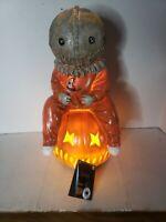 Trick 'r Treat Sam Light Up Statue Spirit of Halloween Exclusive Trick or Treat