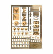 Forgeworld Blood Angels etched brass Horus Heresy space marines 40k