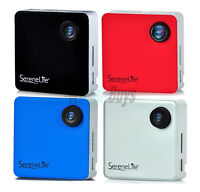 SereneLife SLBCM18 Clip-on Wearable Camera 1080p Full HD with Built-in Wi-Fi