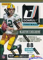 2016 Donruss Football EXCLUSIVE Factory Sealed Blaster Box-MEMORABILIA Card !