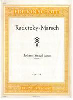 Strauß: Marsch Von Radetzky op.228 Für Klavier - Schott