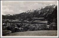 Bad Reichenhall alte AK 1933 gelaufen vom Malerhaus mit Zwiesel u. Hochstaufen