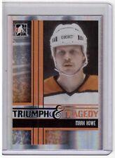 MARK HOWE 11/12 ITG Broad Street Boys Base Card #43 Philadelphia Flyers SP