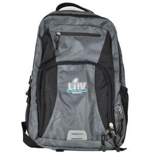Super Bowl LIV 2020 NFL Miami School Backpack Rucksack Travel Bag Black & Gray