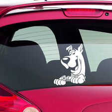 Scooby Doo Funny Novelty Car Bumper Window Sticker Decal Any Car White Gift 7x9