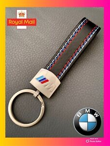 🌟BMW🌟GENUINE🌟LEATHER METAL KEYRING M SPORT M POWER BUY 2 GET ANOTHER 1 FREE