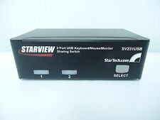 STARTECH.COM STARVIEW SV231USB 2 PORT USB KEYBOARD/MOUSE/MONITOR SHARING SWITCH