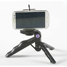 Portable Folding Mini Tripod Stand 2-1 Hand Held Grip For SONY Camera/Phone 6 5S