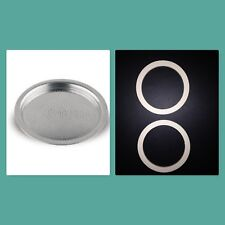 Bialetti Gaskets and Filters for Stainless Steel Coffee Makers 2,4 and 10 cup