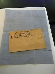 1866 Handwritten Letter Booth Family Philadelphia By Betsy Osborn Colebrook CT